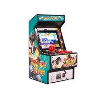 Best popular 16 bit mini arcade mini retro console handheld portable classic game console handheld player with 156 games