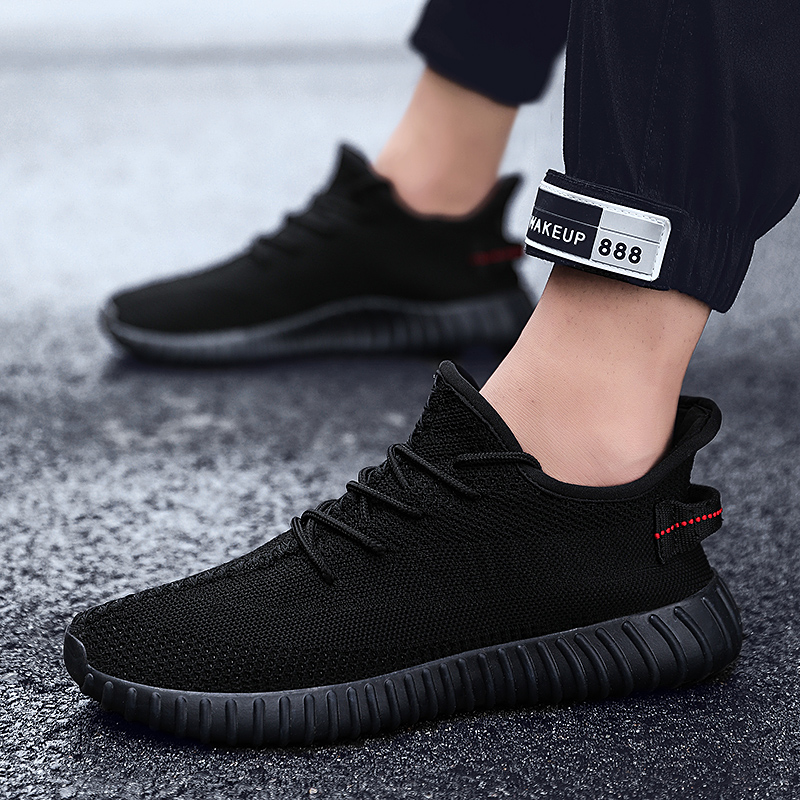 2020 Running Shoes For Men Air Breathable Sneakers 350 Men Sport Shoes Lace Up Non-Slip Athletic Shoes Outdoor Jogging Shoes