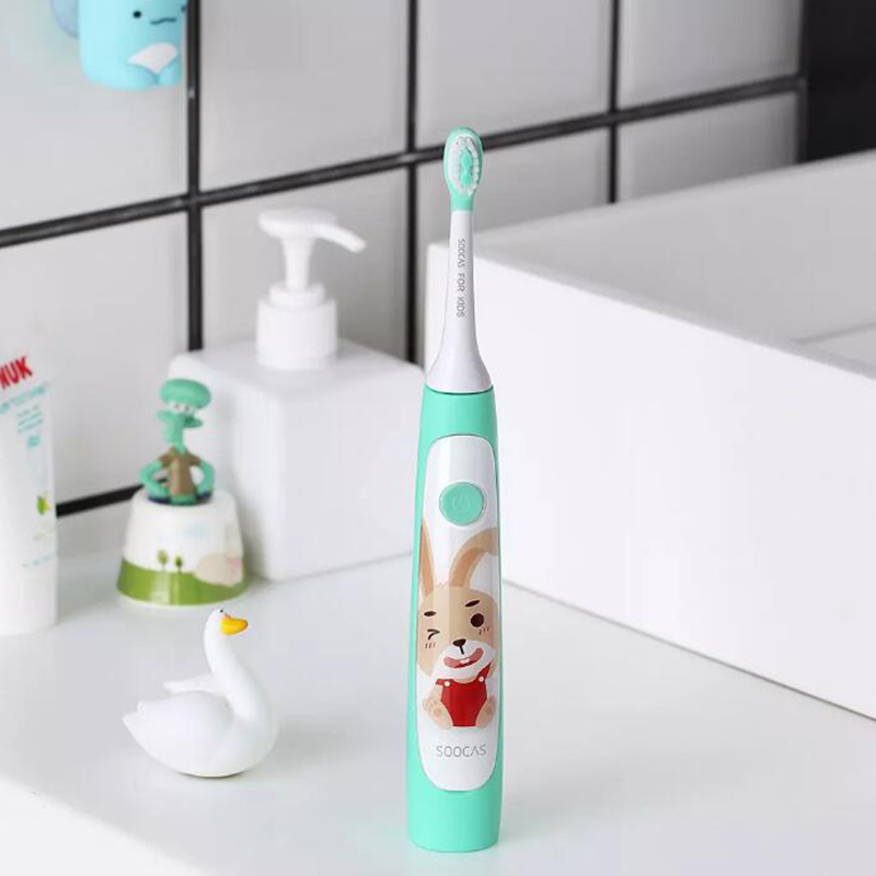 Youpin Smart APP Ultrasonic Electric Toothbrush Waterproof Rechargeable for Child Kids