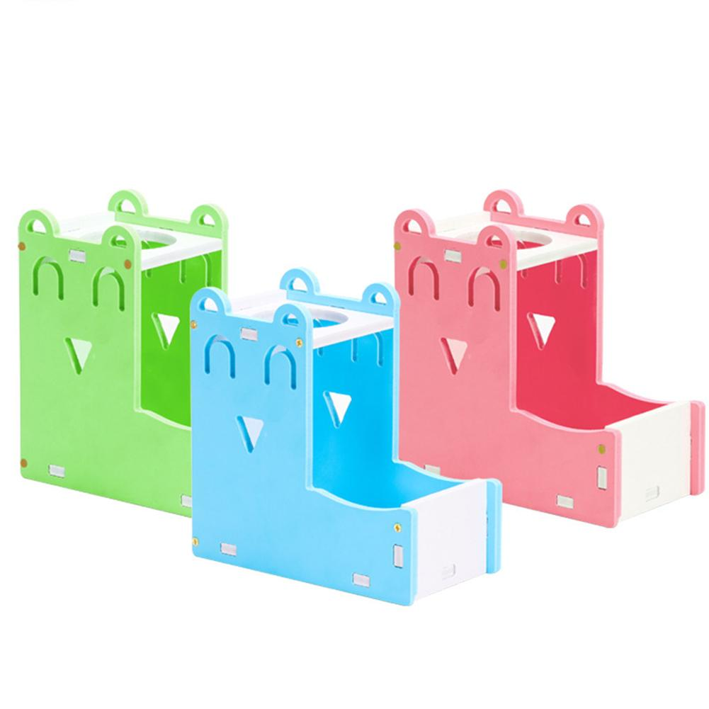Hamster Water Feeder Kettle Automatic Water Bowl Bracket Feeding Supplies For Small Pet Hamsters Gerbils Rabbits Guinea Pigs