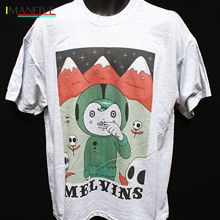 MELVINS PUNK ROCK HARDCORE T-SHIRT neurosis mudhoney S-3XL T Shirt Discount 100 % Cotton For MenS 2019 New Brand