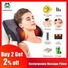 JinKaiRui Neck Massage Pillow Back Massager Foot Massager Ca
