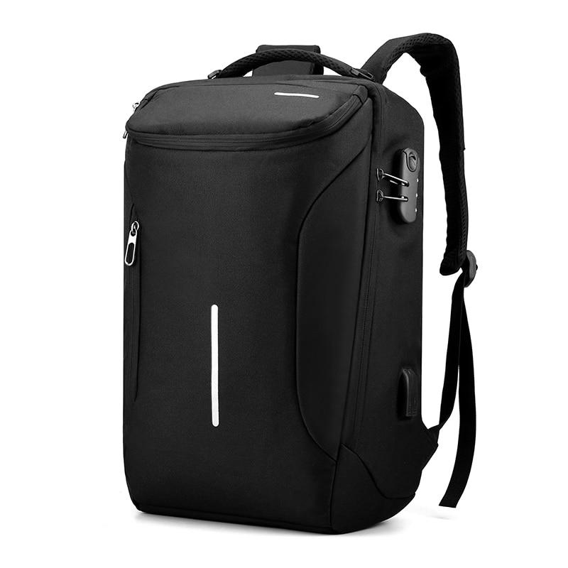 Men Women Universal 15.6-inch Laptop Backpack Waterproof Anti-theft Design Fashion Big Capacity Business Leisure Travel Bagpack