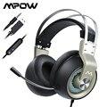 Mpow EG3 Pro Wired Kopfhörer Gaming Headset 3,5mm USB Kopfhörer Mit Mikrofon Auf Linie Volumen Control Für Computer PC gamer