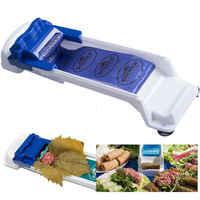 Ferramenta de rolagem de folha de repolho ferramenta de rolamento de carne de uva e vegetal recheada mágica-yaprak sarma dolmer máquina de rolo moedor de carne