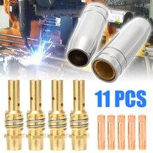 Nozzles Welder-Accessories Contact-Tip MIG MIG/MAG for 11pcs/Set