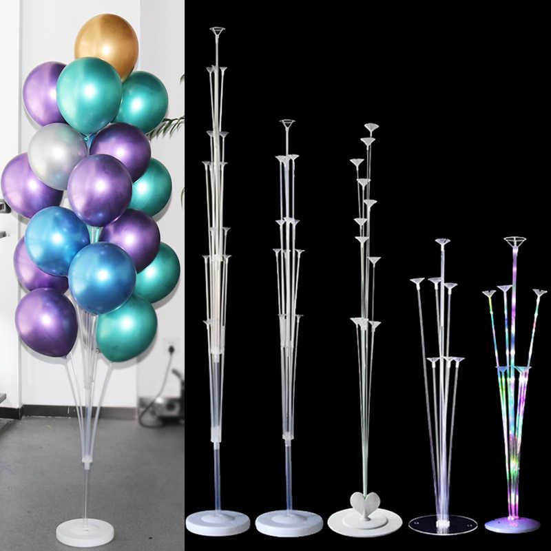 Balony na imprezę urodzinową stojak uchwyt kolumna konfetti balony dekoracje na przyjęcia urodzinowe dla dzieci dekoracje weselne dla dorosłych
