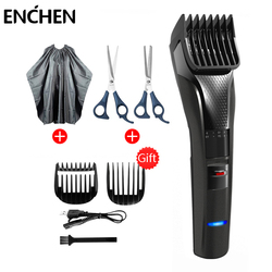 ENCHEN Sharp3S Electric Hair Clippers Barber Profesional Cordless Trimmer For Men Rechargeable Haircut Machine Add 2 Limit Combs