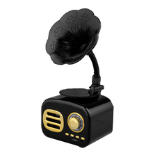 USB de bolsillo receptor estéreo Bluetooth Vintage FM altavoz Mini Retro Radio de onda corta casa Tarjeta de soporte portátil