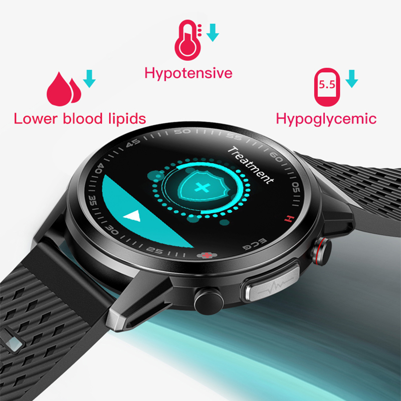 Permalink to 2021 New 650nm Laser Therapy Smart Watch ECG&PPG Body Temperature Waterproof Men Sport Fitness Bracelet For Android Apple Xiaomi