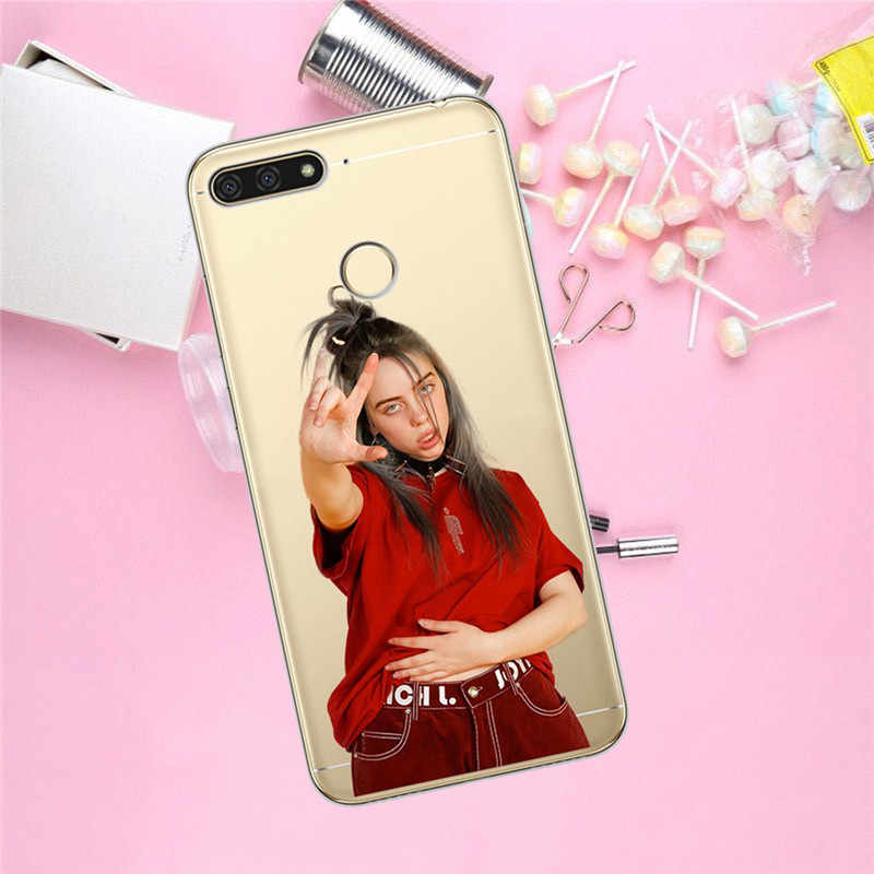 Billie eilish For Huawei Honor 10 9 8 8X 8C 7A 7C 7X 7 6X 6A 20 Pro V20 20i Lite phone Case Cover Funda Coque Etui capa fashion