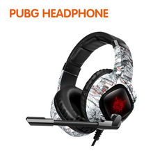 3.5mm K15 Gaming Headset Headphones Wired Gamer Hea