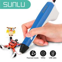 SUNLU 3d pen  3d pen for boys and girls present,3d printer pen with 2 free 1.75mm filament,enjoy drawing to whole family malloom 2016 luxury brand 1 75mm print filament abs modeling stereoscopic for 3d drawing printer pen sale items free shipping page 8