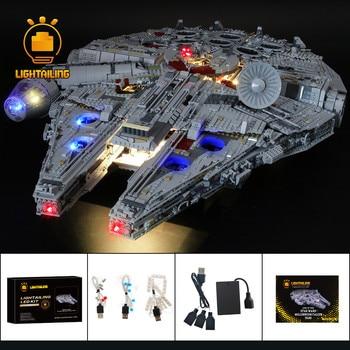 LIGHTAILING LED Light Kit For 75192 Star War Series Ultimate Millennium Blocks Falcon  Lighting Set (NOT Include The Model)