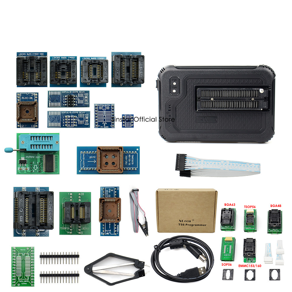 Image 4 - XGecu T56 Programmer 56 Pin Drivers ISP Support 21000+ with 22 adaptersCalculators   -
