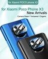 Защитное стекло для камеры Xiaomi Poco X3 NFC, закаленное стекло, защита задней линзы для Poco X3 M3 Pocophone X3 M3, защитная пленка