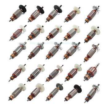 цена на Armature Rotor Angle Grinder Electromechanical Circular Saw Electric Hammer Sandpaper Machine Demolition Hammer Power Tool Parts