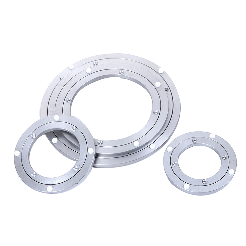 Heavy Aluminium Rotating Bearing Turntable Turn Table Round Swivel Plate For Cake Decorations Catering Services