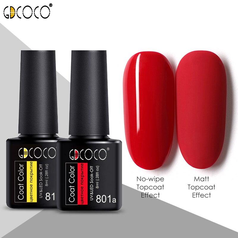 #86102 GDCOCO 2020 New Arrival Primer Gel Varnish Soak Off UV LED Gel Nail Polish Base Coat No Wipe Top Color Gel Polish(China)