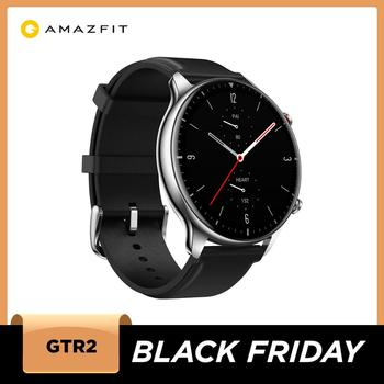 "New Amazfit GTR 2 Smartwatch 14-day Battery Life 1.39""  AMOLED 326ppi Display Music 5ATM Confident Time Control Sleep Monitoring"