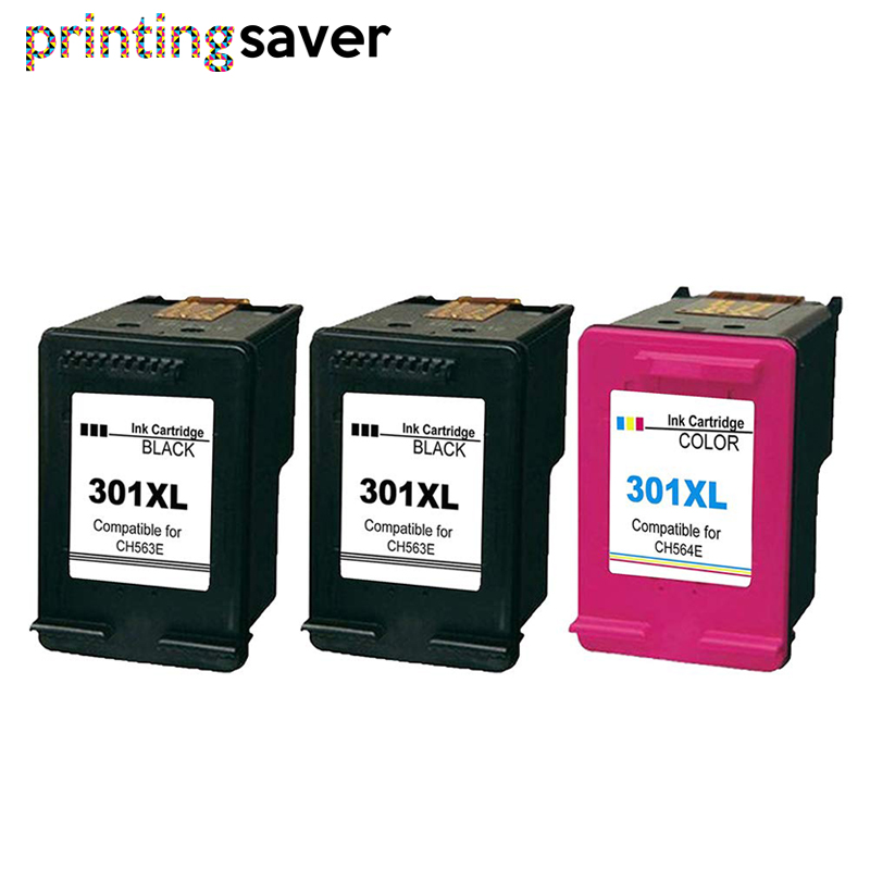 301XL Replacement For Hp 301 Xl Hp301 Ink Cartridge For Hp Deskjet 2050 1000 1050 2510 3000 3054 Envy 4500 4502 Printer