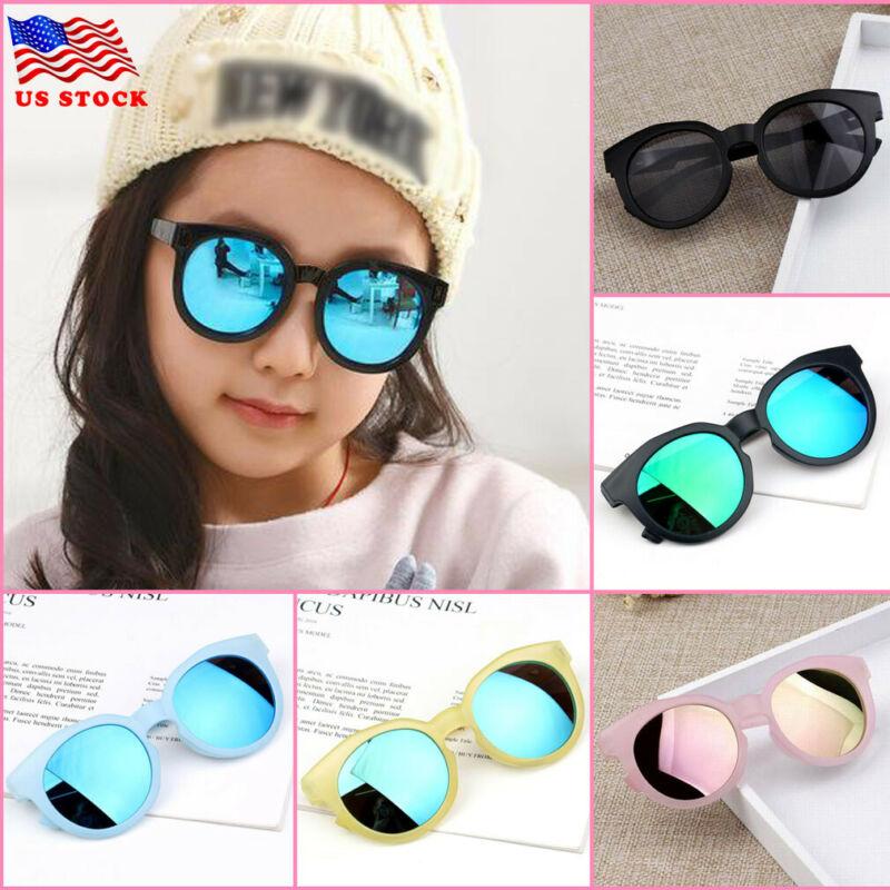 Goocheer Fashion Brand Kids Sunglasses Black Retro Children's Sunglasses UV Protection Baby Sun Glasses Girls Boys Glasses