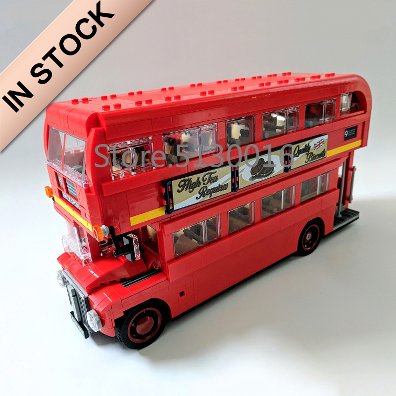 In stock 21045 1686pcs City Creator London Bus Building Block Bricks Toy lepinblocks 10258 DIY Toys Children Gifts(China)
