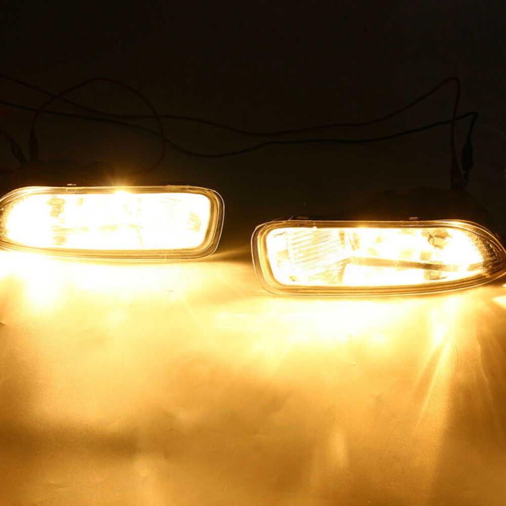 Bagian Mobil Lampu Kabut 1 Pasang Bumper Lampu Lampu untuk Toyota Corolla 2003 2004