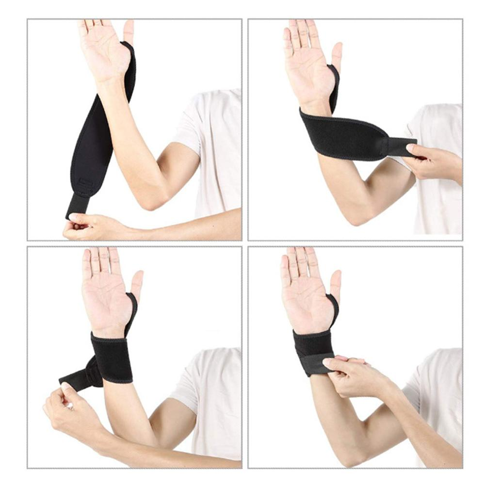 Professional Elasticated Hand Ankle Support Brace Leg Strong Ankle Bandage Guard Support Hand Foot Wrap Protection Brace New in Wrist Support from Sports Entertainment