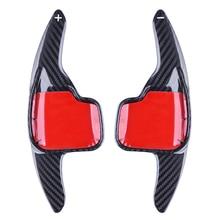 Carbon Fiber Lenkrad Shift Zubehör Paddle Shifter Erweiterung Für BMW F48 F30 F34 F32 F33 F07 F45 F26 3/4/5/6 serie