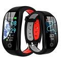 F21 GPS Smart Armband Cardio Herz Rate Blutdruck Uhr IP68 Wasserdichte Smart Band Calorie Pedometer Sport Armband