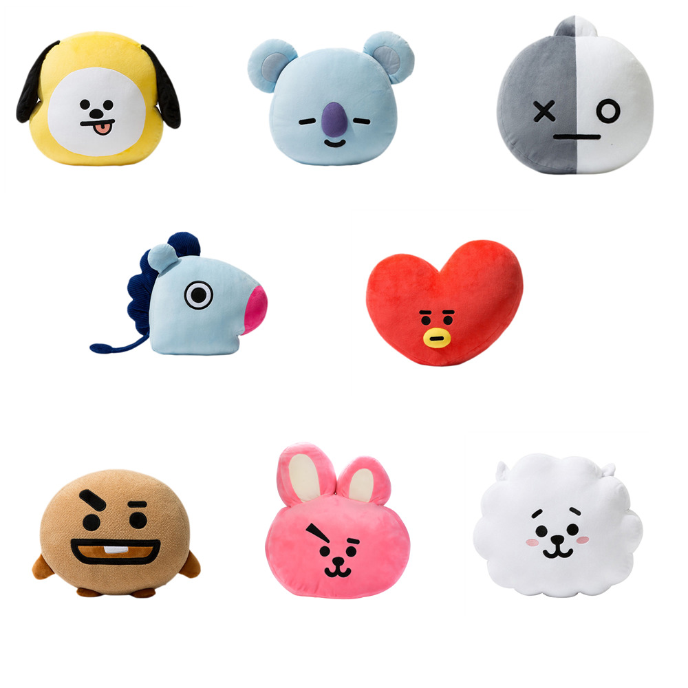 HOT KPOP Group Kids Cute Creative Stuffed Toys For Children Kawaii Pillow Cushion Plush Toy Doll Home Decoration Sofa Cushion