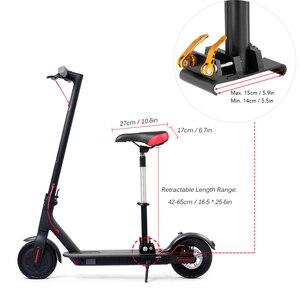 Image 5 - طقم سرج قابل للطي لدراجة شاومي الكهربائية برو كرسي M365 سكوتر الكهربائية سكوتر مقعد قابل للسحب