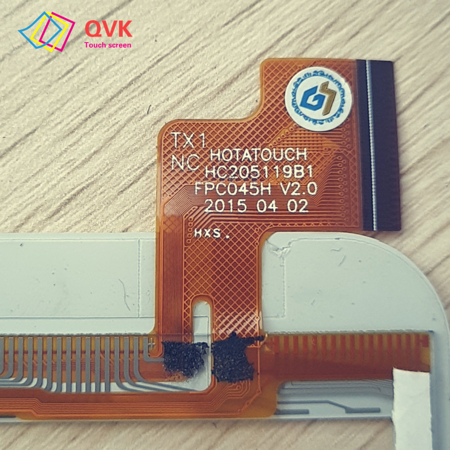 8 Polegada P/N HOTATOUCH HC205119B1 FPC045H V2.0 2015 04 02 Capacitive touch screen painel de reparação peças de reposição