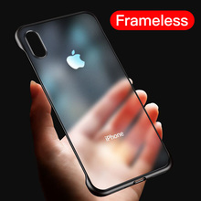 Frameless Phone Case For iphone XS MAX