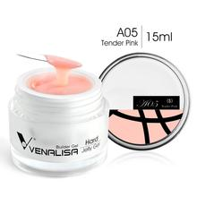 VENALISA Builder Jelly Gel 14 Camouflage Color CANNI Nail Art Manicure Quality Poly Gel Nail Builder Extending UV LED Gel Nail