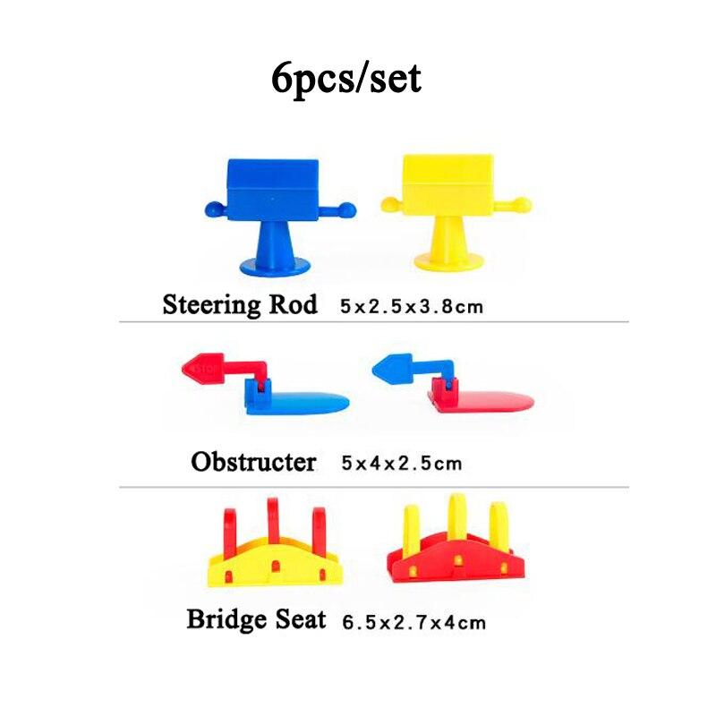 Игрушки домино, детские деревянные цветные блоки домино, наборы для раннего обучения, игры домино, Развивающие Детские обучающие игрушки ZXH - Цвет: 6pcs dang pai zu