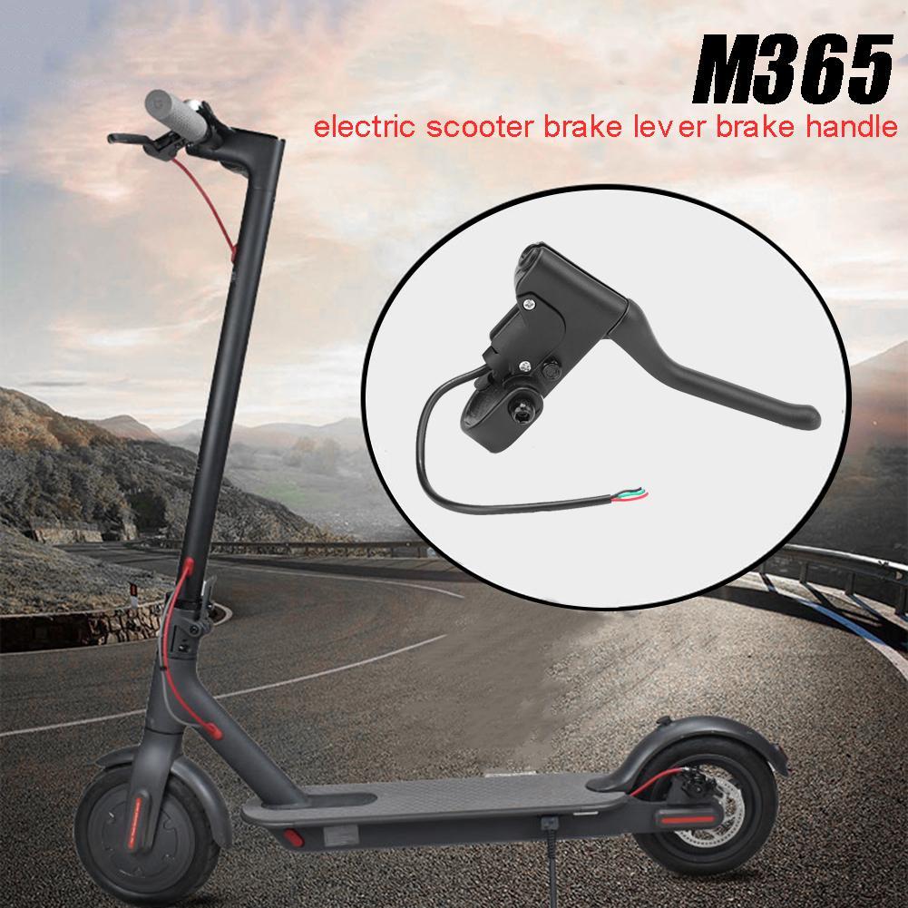 Alça de freio para xiaomi mijia m365 scooter elétrico, liga alumínio alavanca barra mão conjunto do freio kit para o esporte scooter