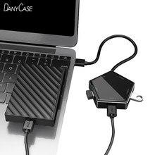 Hub USB 3.0 5 in 1 per adattatore per Laptop PC Computer Hub di ricarica USB 5 porte Splitter per Notebook micro-usb Dell Lenovo Macbook Accesso