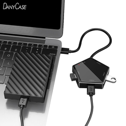 5 in 1 USB 3.0 Hub For Laptop Adapter PC Computer USB Charge Hub 5 Ports Notebook Splitter Micro-USB Dell Lenovo Macbook Accesso