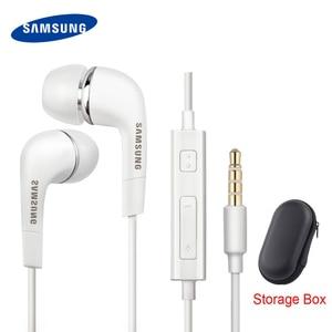 Image 1 - Samsung Oortelefoon Originele EHS64 Headsets Met Ingebouwde Microfoon 3.5 Mm In Ear Wired Oortelefoon Voor Smartphones Galaxy s3 S6 S8