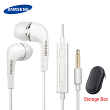Samsung ecouteurs dorigine EHS64 casques avec Microphone intégré 3.5mm dans loreille filaire écouteur pour Smartphones Galaxy S3 S6 S8