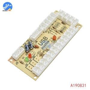 Image 5 - 1 個のゼロ遅延アーケードのusbエンコーダpcジョイスティックアーケードロッカー回路ボード制御パネルmameゲーム