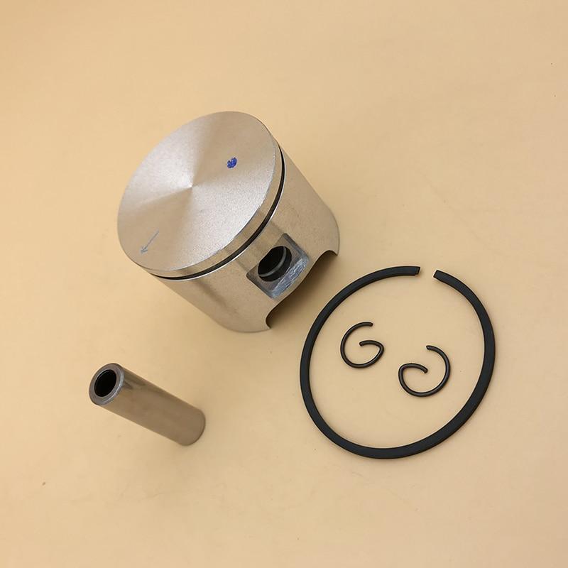 HUNDURE 46mm Piston Pin Ring Kit For Husqvarna 55 , 55 Rancher Gasoline Chainsaw Spare Parts # 503608171 / 503 60 81-71