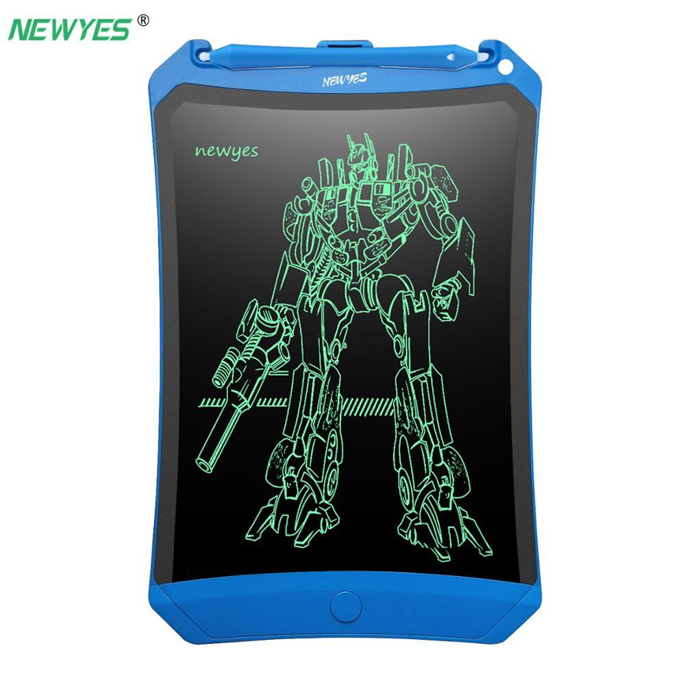 NeWYeS 8.5 ''LCD Escrita Tablet Gráfico Desenho Pad Placa de Escrita Eletrônica Notepad Robot Digital Stylus Pen Toy Kids