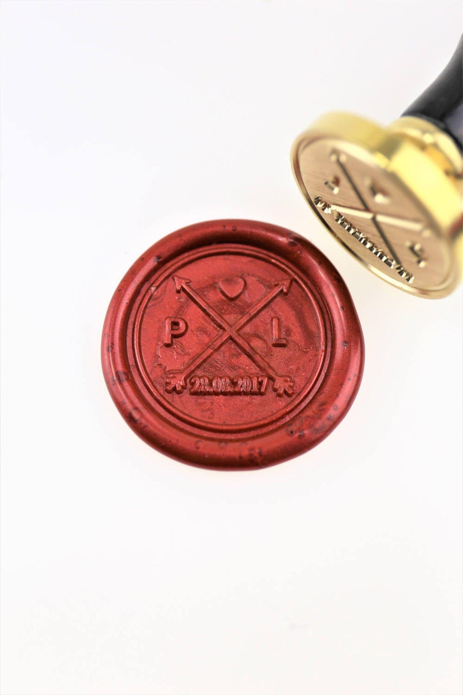 NEW Custom Initials wax seal stampCustom monogram wedding sealswedding invitation sealcustom wedding stamp