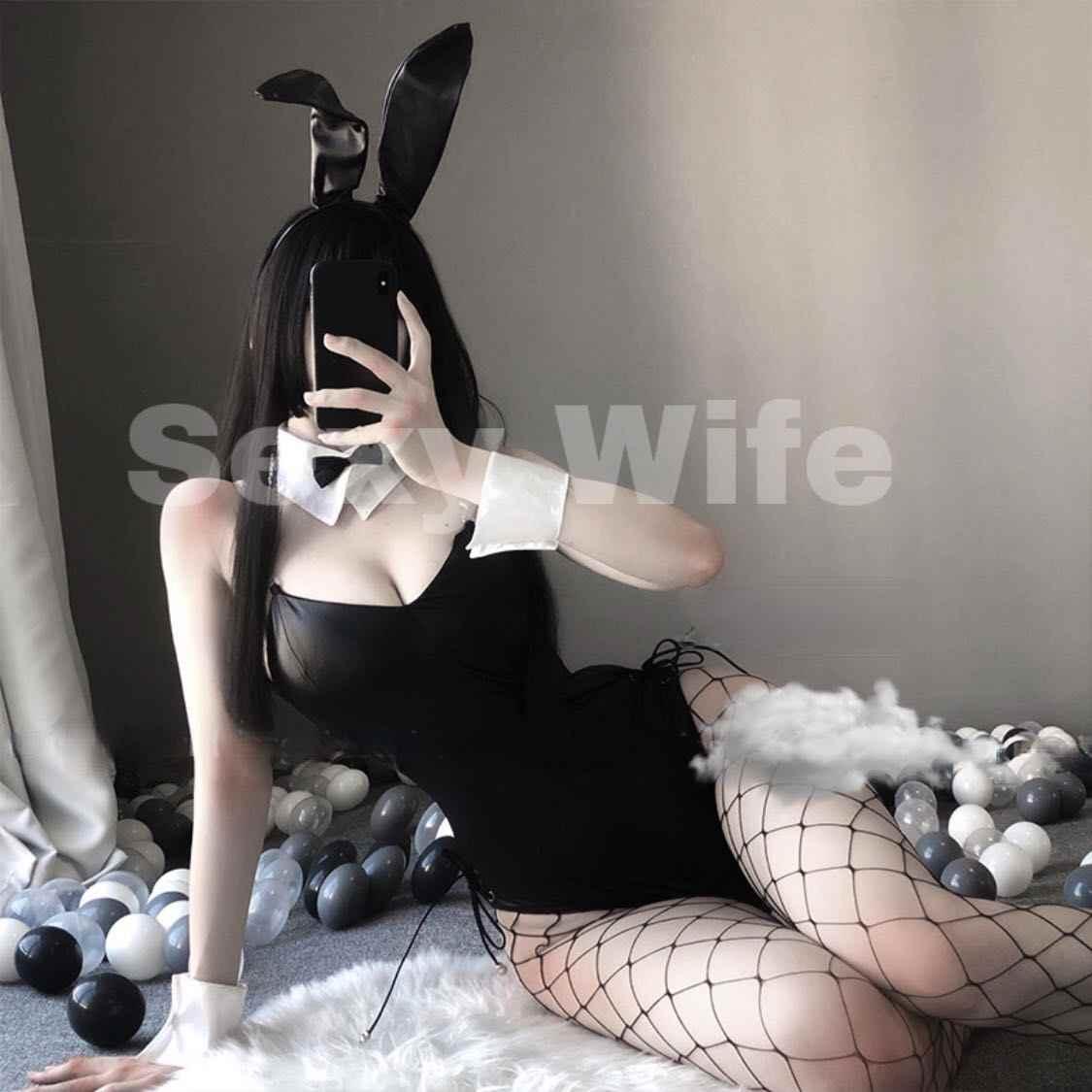 Feminino preto plutônio collant halloween carniva festa terno anime suzumiya haruhi não yuuutsu coelho menina sexy uniforme cosplay traje