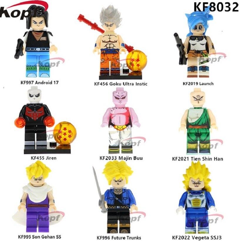 Building Blocks Bricks Kits Dragon Ball Microfigures Figurine Legoinglys Legoed Cartoon Characters Toys For Children Kids Baby