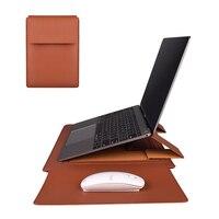 折りたたみラップトップスリーブバッグアップルのmacbookプロ15.4マックブックエア13 13.3 15インチ2020 ipad 12.9ケースカバーポーチアクセサリー