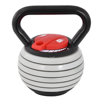 HT1082 Adjustable Weight Kettle Bell 40 Pounds Cast Iron Competitive Kettlebell Exercise Body Shaping Indoor Fitness Equipment
